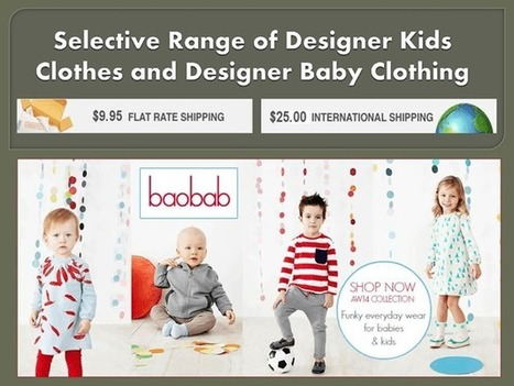 Latest Collection of Designer Kids clothes | online shopping | Scoop.it