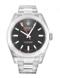 Rolex Milgauss 116400 Black Baton watch fake on sale. - €129.00 | buy cheap replica watches | Scoop.it