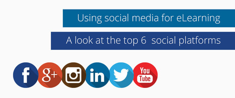 Using social media for eLearning (a look at the top 6 social platforms) | Disruptive eLearning | Scoop.it