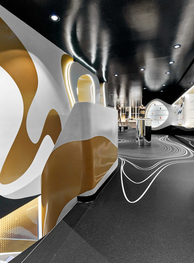 "Karim Rashid's sex shop interior ""satisfies primal desire"" | parametric design | Scoop.it"