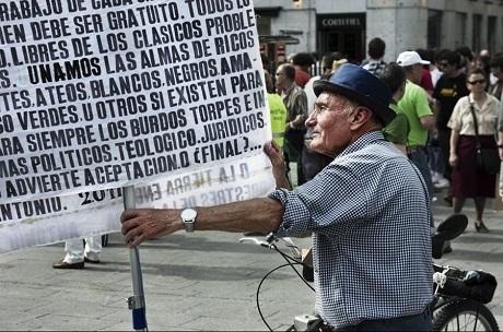 À Madrid, les Indignés fêtent leur premier anniversaire malgré le durcissement pénal - Regards.fr | Union Européenne, une construction dans la tourmente | Scoop.it