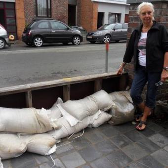 Mons: inondations rue Valenciennoise, les riverains en ont ras le bol et demandent à la Ville d'agir | Inondations en Wallonie | Scoop.it