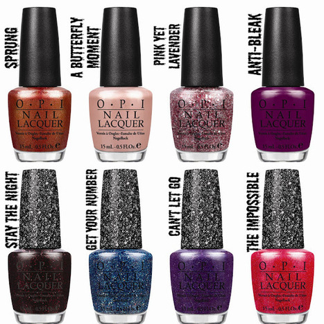 Manicure Addict: OPI Mariah Carey Collection Press Release   Beauty Training Studio   Scoop.it