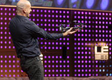 Remote-vision quadcopter soars over LeWeb | READ WHAT I READ | Scoop.it