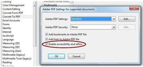 PDF Accessibility - Converting Documents to PDF | Inclusive Marketing | Scoop.it