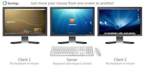 Synergy vous permet de partager votre clavier et souris entre plusieurs ordinateurs sur votre bureau. | Time to Learn | Scoop.it