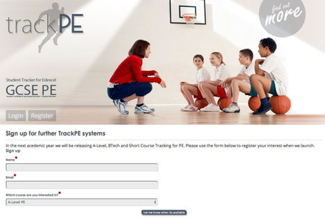 TrackPE - PE Tracking Software - PE4Learning | PE4Learning | Scoop.it
