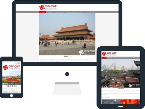 Création du site internet de Chen-Chine - Actualités - evolutiveWeb.com | Actus de l'agence, infos et conseils en e-communication et entrepreunariat | Scoop.it