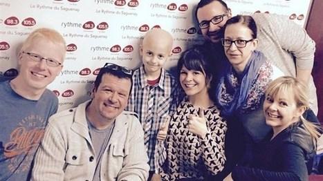 Atteint d'un cancer à 6 ans, Tristan épate l'équipe de Rythme FM à Saguenay | Le Réveil du Saguenay | Aidants familiaux | Scoop.it