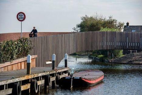 The Dutch town of Monster built a bridge that doubles as a bat habitat - Mother Nature Network (blog) | Bat Biology and Ecology | Scoop.it