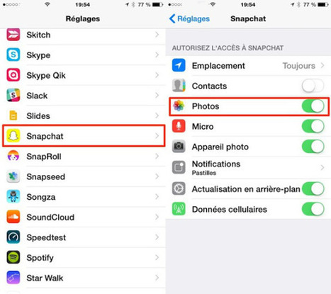 8 astuces pour bien débuter avec Snapchat [iPhone]   Apple pratique   Scoop.it