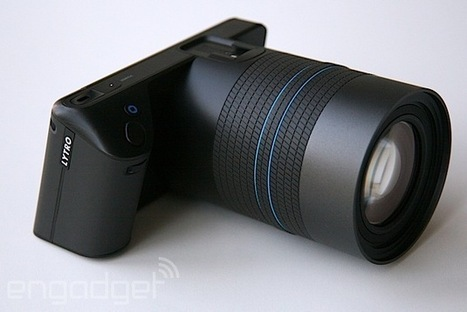 Lytro's new light-field camera looks like an actual camera, costs $1,599 | Slash's Science & Technology Scoop | Scoop.it