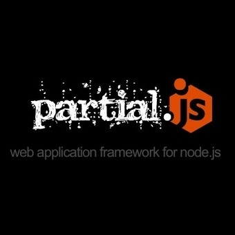 partial.js / web application framework for node.js | Web Development | Resources | Inspirations | Scoop.it
