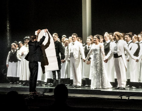 As Diva Is Cheered, Protester Climbs Onto Stage at the Met Opera   Opera singers and classical music musicians   Scoop.it