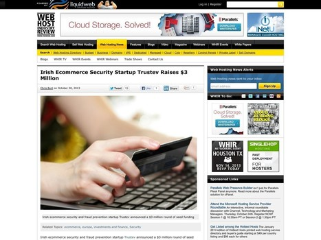 Irish Ecommerce Security Startup Trustev Raises $3 Million | Digital-News on Scoop.it today | Scoop.it