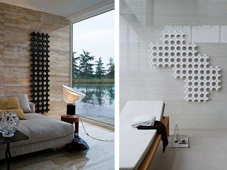 Un radiateur entre l'oeuvre d'art et l'objet design | Immobilier | Scoop.it