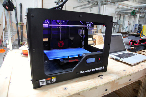 MakerBot partners with Donors Choose to bring 3D printing to the clasroom | Invent To Learn: Making, Tinkering, and Engineering in the Classroom | Scoop.it