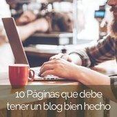 10 Páginas que debe tener un blog bien hecho   Lluvia de ideas TIC   Scoop.it
