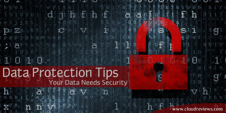 Digital Data Protection - Some Handy Tips to Strengthen Your Data Security!   Unblock Streaming Channels   Scoop.it