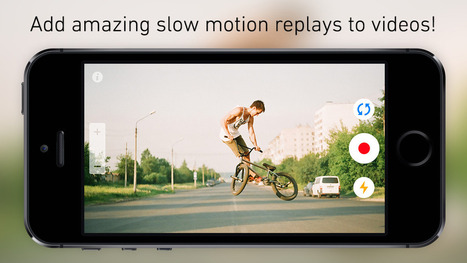 ReplayCam - Slow Motion Replay Video Camera (Photography) | Instagram Tips and Tricks | Scoop.it