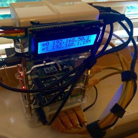 Build a Compact 4 Node Raspberry Pi Cluster | Make: | Home Automation | Scoop.it