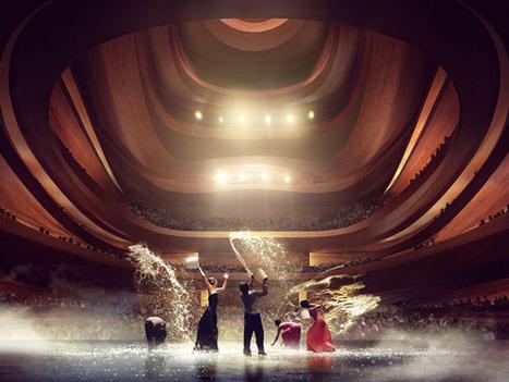 Busan Opera House Competition – проект-победитель от норвежских архитекторов | Do u like interior design? | Scoop.it
