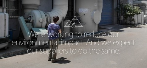 Apple Praised By Greenpeace For Reducing Use Of Conflict ... | Greenpeace | Scoop.it