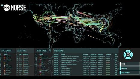 This mesmerizing map shows what cyberattacks look like | The Future of Everything | Scoop.it