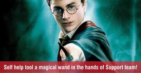 Help Desk Self Help Tool like Harry Potter's Wand to Customer Support Team! | Kayako Alternative | Scoop.it