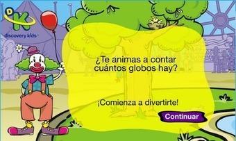 Con mirada de niños: JUEGO DE MATEMÁTICAS PARA APRENDER A CONTAR   Educación Preescolar y temas relacionados   Scoop.it