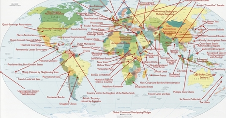 Probably the Coolest Political Map Of the World You'll See | Daily World News | Scoop.it