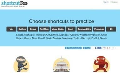 Nueve aplicaciones y recursos web para convertirte en un experto en atajos de teclado | Software libre, web 2.0 y otras cosas | Scoop.it