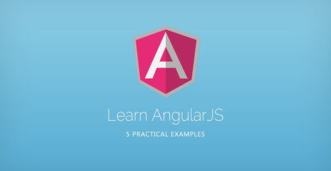 Learn AngularJS With These 5 Practical Examples | Tutorialzine | html5, webapp, mobility, ibooks, bootstrap | Scoop.it