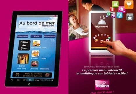 Tablinn : L'appli tablette dans nos assiettes ! | Technologies du bonheur | Scoop.it