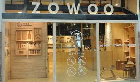 Shopper Experience : un magasin dans un centre commercial chinois donne des cours de menuiserie | Marketing du point de vente | Scoop.it