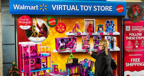 Mattel et Walmart s'essayent au magsin virtuel éphémère | E-commerce, M-commerce : digital revolution | Scoop.it