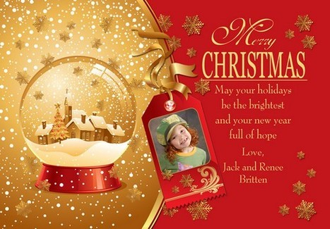 New Greeting Cards for Christmas 2015 | E-Cards For Birthday - wedding or anniversary | Scoop.it