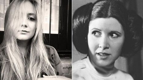 Star Wars VII : la fille de Carrie Fisher, nouvelle princesse Leïa au casting | Insolites culturels | Scoop.it
