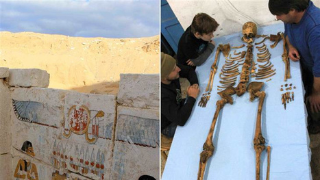 "Mysterious 3,650 year-old pharaoh and ""lost dynasty"" found in Egypt 