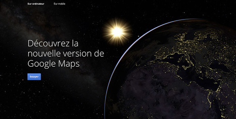 Chacun sa carte? Le nouveau Google Maps | geospatial | Scoop.it