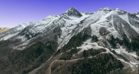 Take a 3D satellite flyover of the Sochi Olympics - CNET | PIXNOV | Scoop.it