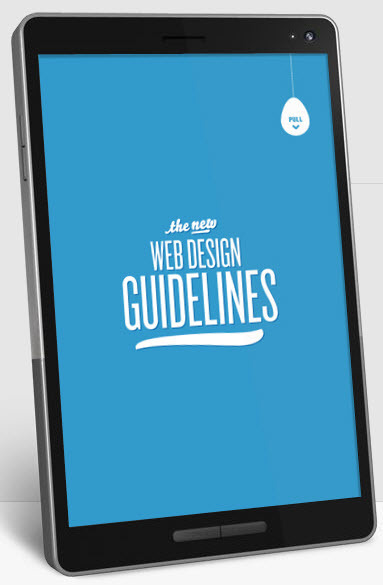 The New Web #Design Guidelines | Notas de eLearning | Scoop.it
