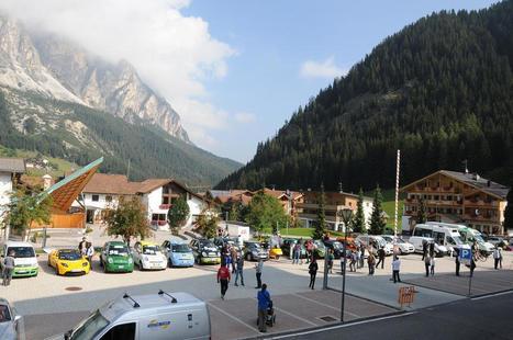 Alperia ECODolomites 2016, auto elettriche tra i passi alpini | green car | Scoop.it