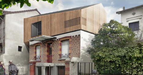 Surélévation d'une maison à Nogent | Avant Après | Scoop.it