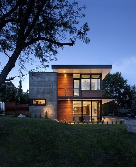 Dihedral House: A sustainable home in Boulder, Colorado | sustainable architecture | Scoop.it
