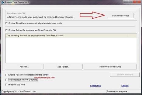 Tester en toute sécurité des logiciels avec Toolwiz Time Freeze | Au fil du Web | Scoop.it