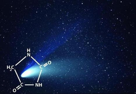 Une molécule clé de chimie prébiotique obtenue en laboratoire   Aux origines   Scoop.it