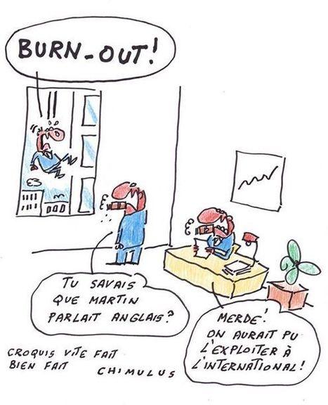 Burn-out ! | Dessinateurs de presse | Scoop.it