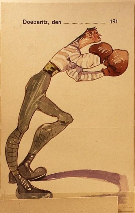 Postcards from the First World War prison camp Doeberitz (Döberitz) - Retronaut | Rhit Genealogie | Scoop.it