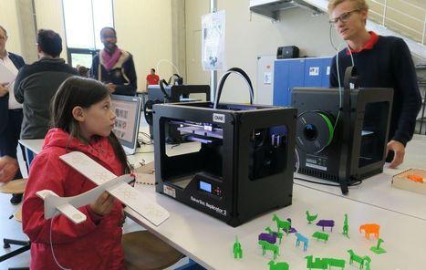 VIDÉO. Lieusaint : découvrez le fab lab de l'Institut catholique des Arts et Métiers | FabLab - DIY - 3D printing- Maker | Scoop.it